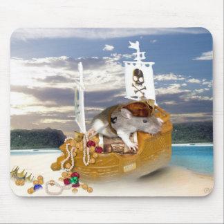 小さい海賊マウスパッド マウスパッド