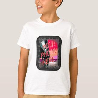 小さい点のテンプレートフレーム Tシャツ