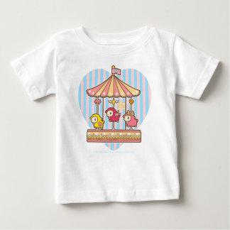 小さい無くなった子ヒツジのメリーゴーランド ベビーTシャツ
