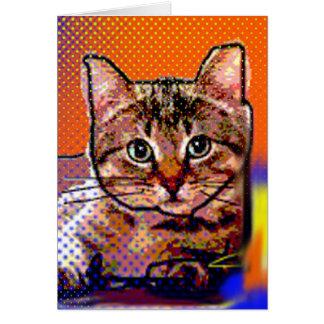 小さい猫 カード