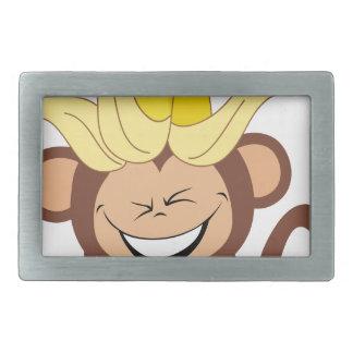 小さい猿のコレクション104 長方形ベルトバックル