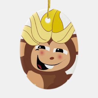 小さい猿のコレクション110 セラミックオーナメント
