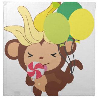 小さい猿のコレクション118 ナプキンクロス