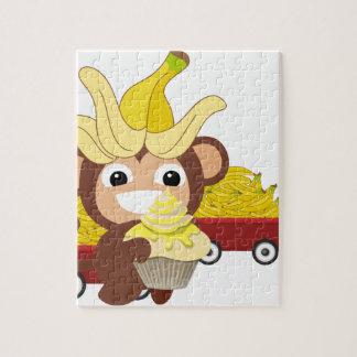 小さい猿のコレクション125 ジグソーパズル