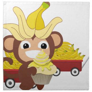 小さい猿のコレクション125 ナプキンクロス