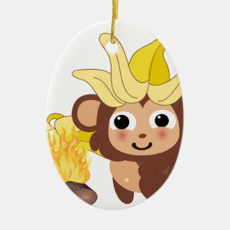 小さい猿のコレクション128 セラミックオーナメント