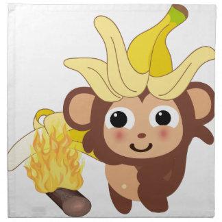小さい猿のコレクション128 ナプキンクロス