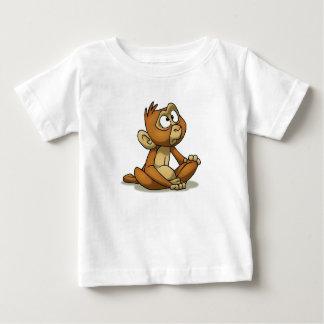 小さい猿のワイシャツ ベビーTシャツ