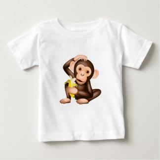 小さい猿 ベビーTシャツ