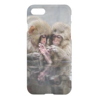 小さい猿  Hot Springs、日本 iPhone 8/7 ケース