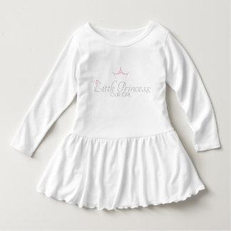 小さい王女のための幼児のひだの服 ドレス