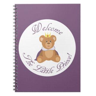 小さい王子を歓迎して下さい ノートブック