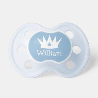 小さい王子|のカスタムな青色児の調停者 おしゃぶり