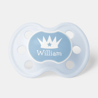 小さい王子|のカスタムな青色児の調停者 ベビーおしゃぶり