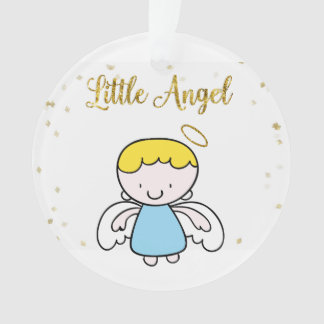 小さい男の子の天使の輝き オーナメント