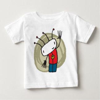 小さい男の子 ベビーTシャツ