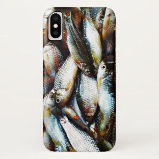 小さい白身魚 iPhone X ケース