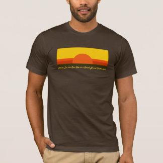 小さい腸の妨害-暗いワイシャツ Tシャツ