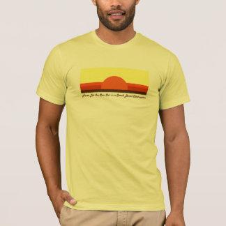 小さい腸の妨害-軽いワイシャツ02 Tシャツ