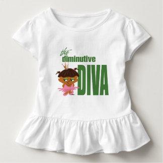 小さい花型女性歌手 トドラーTシャツ