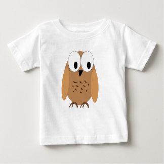 小さい茶色の鳥 ベビーTシャツ