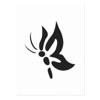 小さい蝶 ポストカード