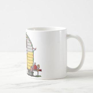 小さい西部のキャンピングカートレーラー コーヒーマグカップ
