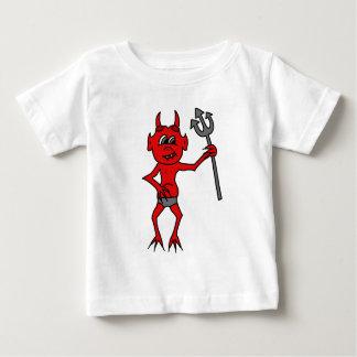小さい赤い悪魔 ベビーTシャツ