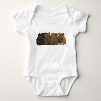 小さい赤ん坊のモルモットのお尻 ベビーボディスーツ