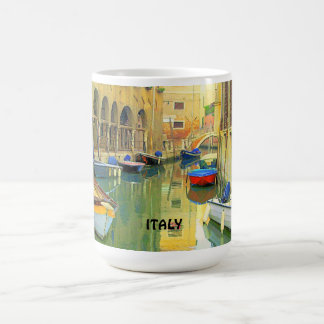 小さい運河、イタリア コーヒーマグカップ