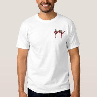小さい閲兵行進部隊 刺繍入りTシャツ