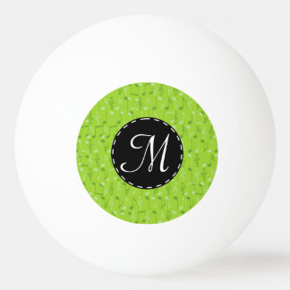 小さい音楽ノート 卓球ボール
