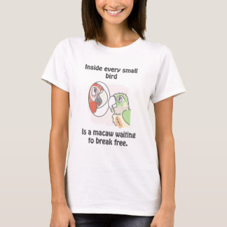 小さい鳥 Tシャツ
