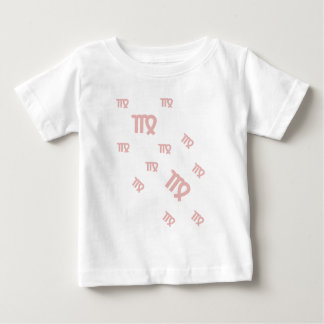 小さい《星座》乙女座のTシャツ ベビーTシャツ