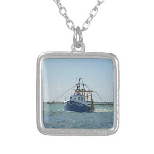 小さい|青い|採取|ボート カスタムジュエリー
