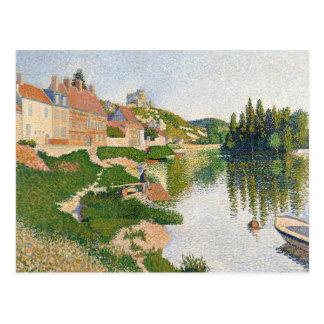 小さいAndely河岸1886年 ポストカード