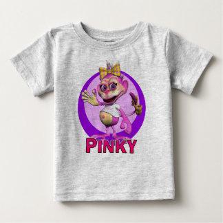 小さいGiggleBellies猿 ベビーTシャツ