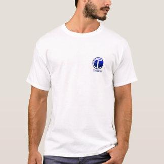 小さいM白いTechCraftのTシャツ Tシャツ
