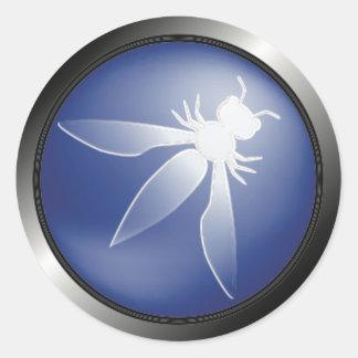 小さいOWASPのロゴのステッカー- ラウンドシール