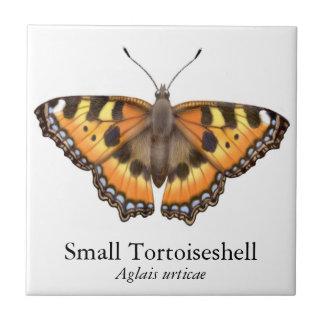 小さいTortoiseshellのヴァネサの蝶タイル タイル