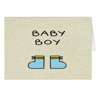 小さいwobblies男の子 カード
