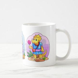 小さくかわいい恐竜 コーヒーマグカップ