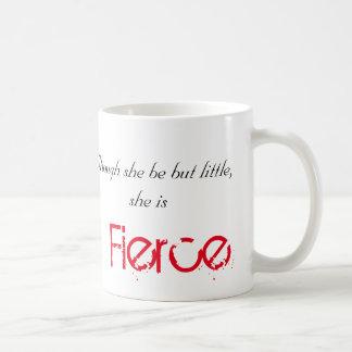 小さくしかし激しい-シェークスピア コーヒーマグカップ