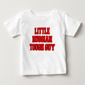 小さくロシアのなタフガイ ベビーTシャツ