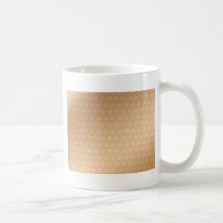小さく小さいハートおよびPusssy白い猫 コーヒーマグカップ