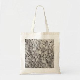 小さく白い小石 トートバッグ