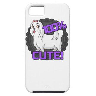小さく白い犬-かわいい100%! iPhone SE/5/5s ケース