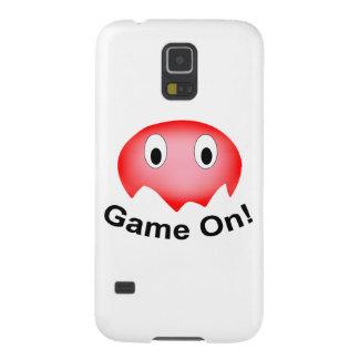 小さく赤い幽霊のSamsungの銀河系S5の箱 Galaxy S5 ケース