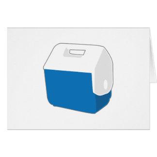 小さく青いクーラー カード