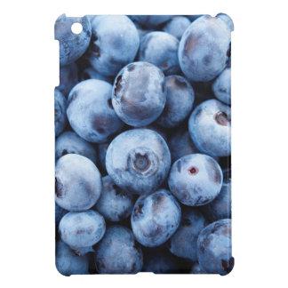 小さく青いブルーベリー-フルーツのプリント iPad MINI CASE